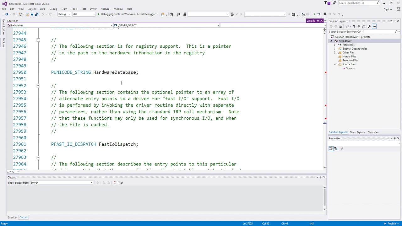 Windows Kernel Programming Tutorial 3 - Writing a simple driver