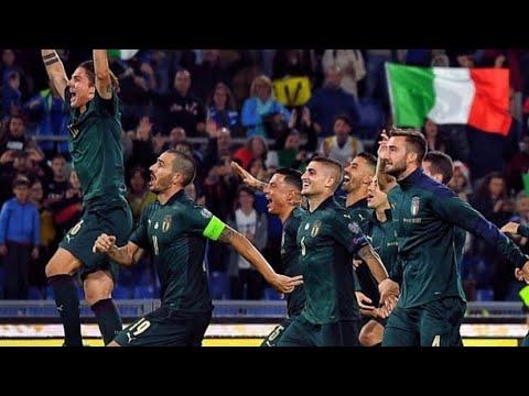 【EURO2020予選】イタリアvsギリシャ 【ハイライト】