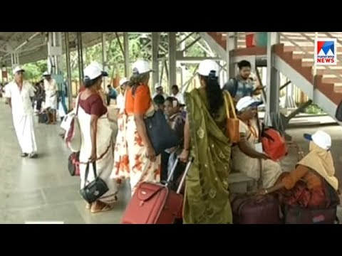 Karassery panchayat organised Delhi tour for senior citizens
