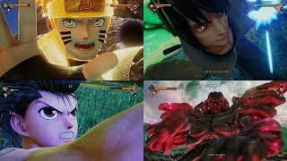 JUMP FORCE - All Character Ultimate Attacks Gameplay Showcase【60FPS 1080P】