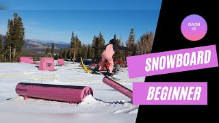 Girl Snowboard Slopestyle Chal…