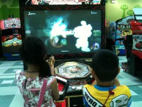 เกมยิงต่อสู้ เล่นกันสองคนพี่น้องปิงๆปันๆ
