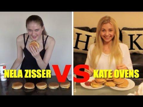 Triple Double Triple Single McDonalds Cheeseburger Challenge - Nela Zisser