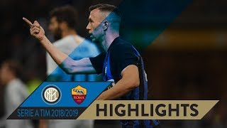 INTER 1-1 ROMA | HIGHLIGHTS | Perisic scores to peg the Giallorossi back!