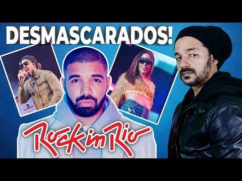 DESMASCARANDO o Rock in Rio - DRAKE, ANITTA e TICO SANTA CRUZ