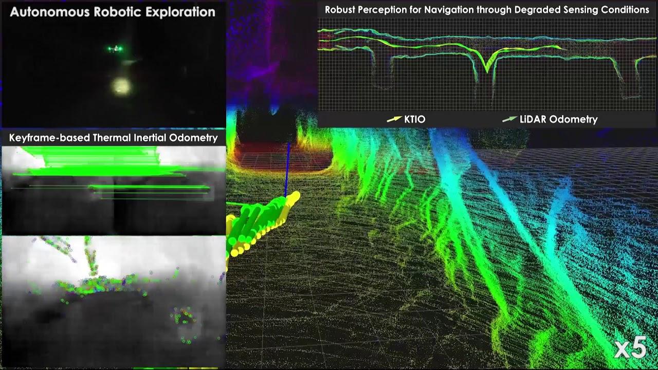 Autonomous Navigation and Exploration - Autonomous Robots Lab