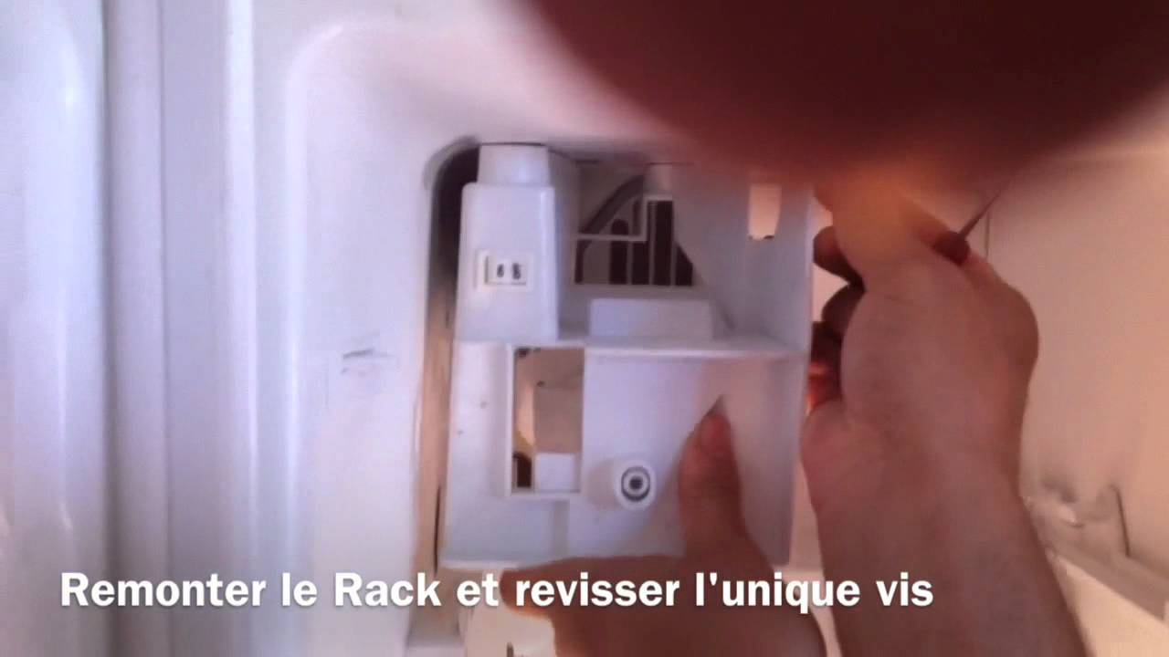 tuto r parer fabrique gla ons frigo am ricain lg ice maker youtube. Black Bedroom Furniture Sets. Home Design Ideas