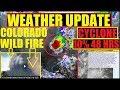HURRICANE UPDATE! COLORADO WILD FIRE, ANOTHER KILAUEA ERUPTION ,US WEATHER