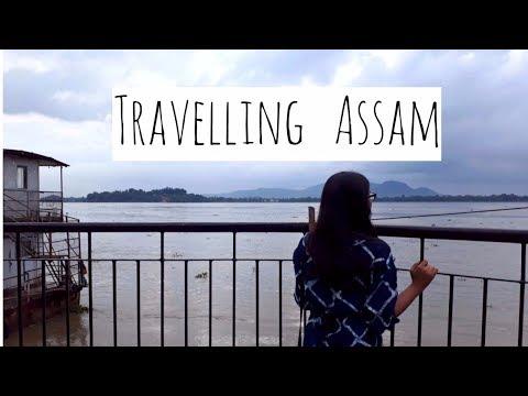 VLOG #5   TRAVELLING ASSAM   #NETOUR pt 1   Travel Vlog  
