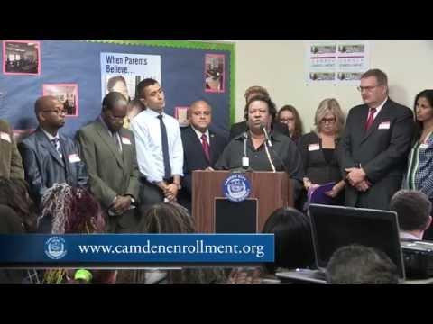 Press Event: Camden Enrollment