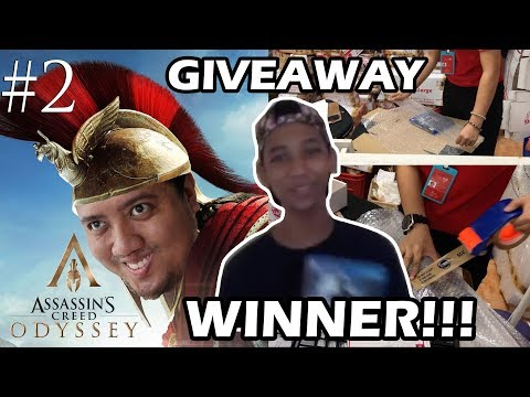 GIVEAWAY WINNER !!! Assassins Creed Odyssey Gameplay Part 2 - James Wacan - jccaloy thumbnail