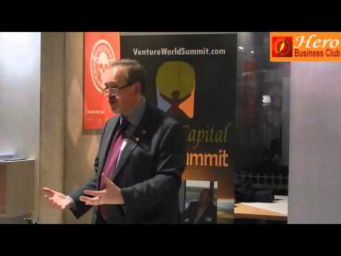 Marc Evans at Cardiff Open Coffee Event by Hero Business Club
