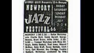 1966-Newport - George Benson (g) + Lannie Smith (organ) - C.C. Rider - guitar workshop (audio)