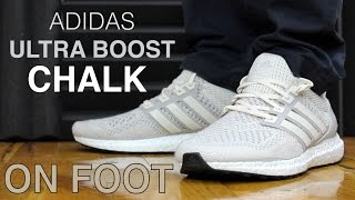 adidas ultra boost chalk kanye friends and family on feet