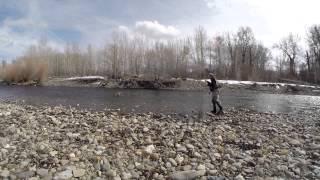 Дерев'яна Річка Рибалка