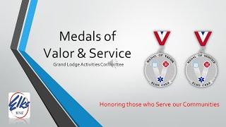 Public Safety Medals of Valor/Service