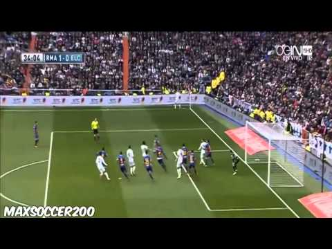 Asier Illarramendi Fantastic Goal ~ Real Madrid vs Elche 1-0 ~ 22 02 2014