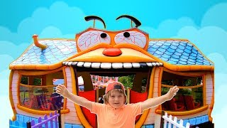 Magic Playhouse for Kids at Amusement Park | Family Fun Adventures with TimKo Kid