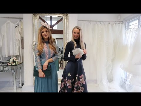 WINTER WEDDING GUEST OUTFIT CHALLENGE! ? BE MY BRIDE ? 8