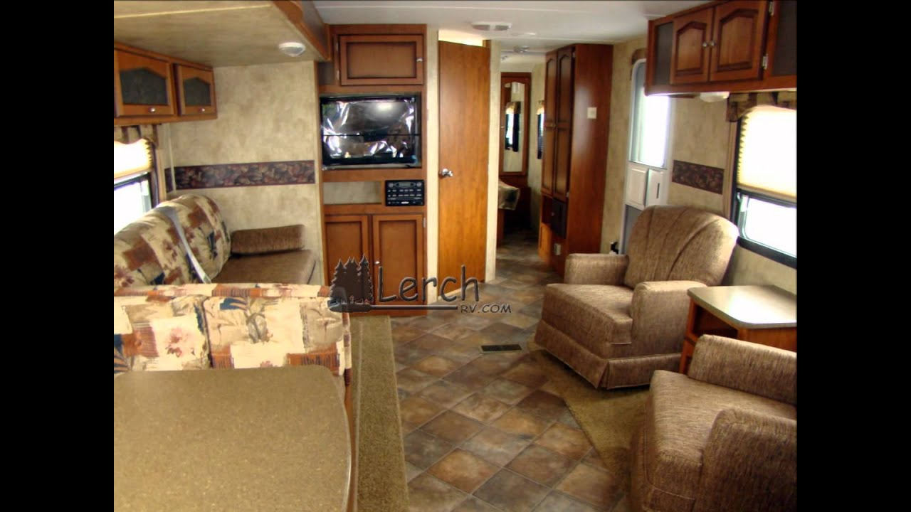 5th Wheel Trailers >> 2012 Passport 3100RK rear kitchen travel trailer by