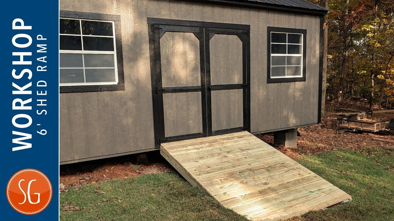 DIY 6ft Shed Ramp | SG Workshop