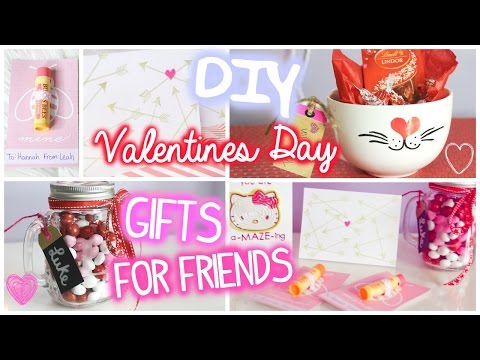 Valentines Day Gifts for Friends! // 5 DIY Ideas
