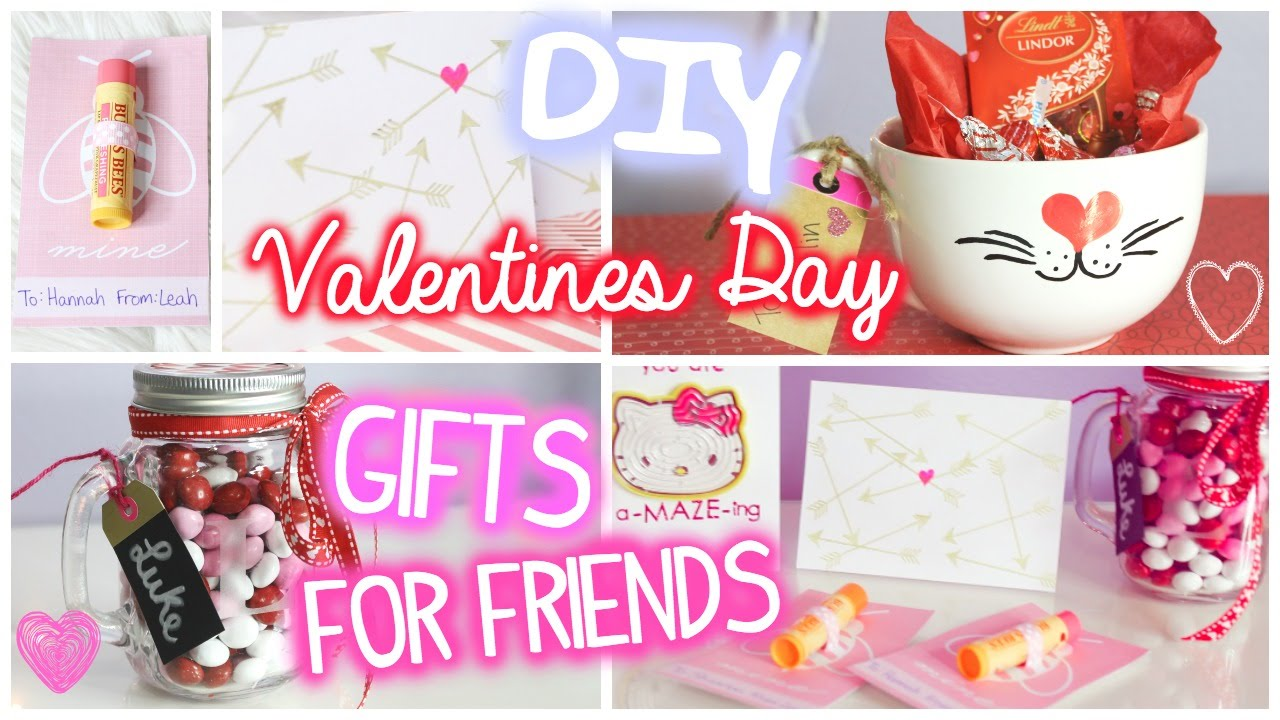 valentines day gifts for friends! // 5 diy ideas - youtube, Ideas