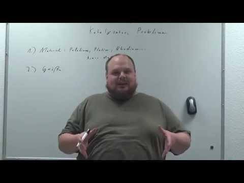 Messevortrag: Katalysator oder Indikator gegen Aldehyde
