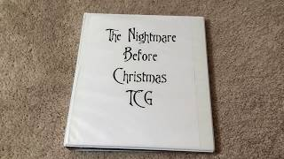 The Nightmare Before Christmas TCG --Complete! Trading Card Sets--
