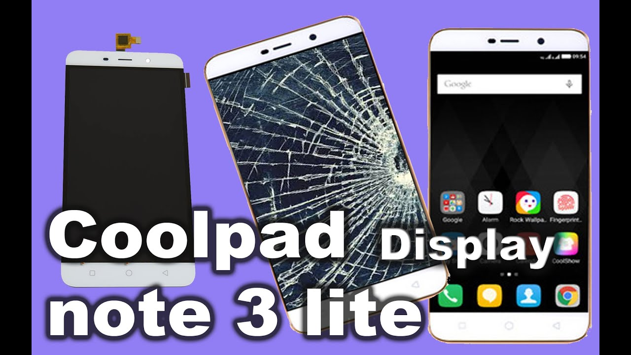 How to Coolpad Note 3 Lite Touch Screen Digitizer and Display Replacement