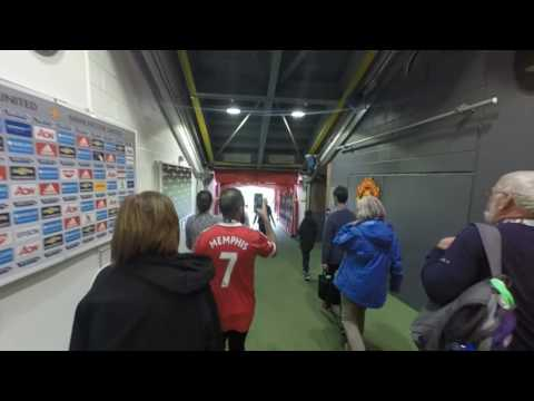 The Old Trafford Tunnel