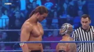 SmackDown 4/15/11 Rey Mysterio vs. Drew McIntyre