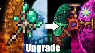 Terraria Supreme Buffed Solar Staff   vs Calamity Mod Death Mode Boss Rush ll Ancients Awakened Mod