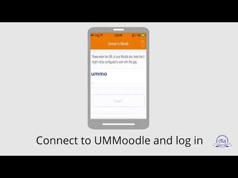 Get UMMoodle on your mobile | CTLE