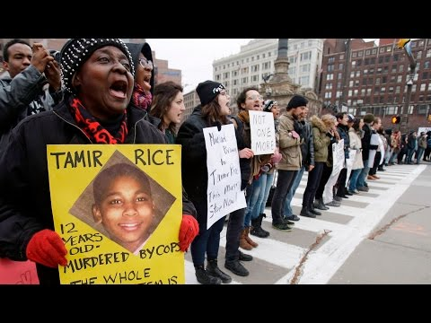 Tamir Rice rally in wake of grand jury decision