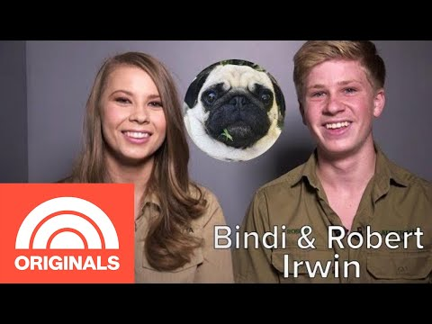 Bindi And Robert Irwin's Family Pug Is 鈥極ne Of The Sweetest Animals鈥� They Know | My Pet Tale | TODAY