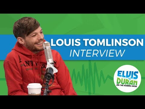 Louis Tomlinson on Collaborating With Bebe Rexha and His Love of Writing | Elvis Duran Show