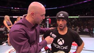UFC 174: Demetrious Johnson Octagon Interview