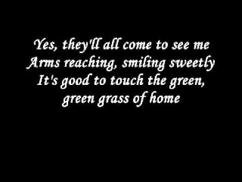Johnny Cash - Green green grass of home lyrics