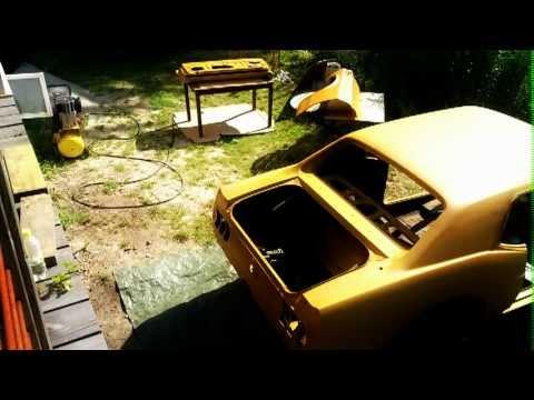 Mustang 69 - 2k epoxy primer - Time Lapsed