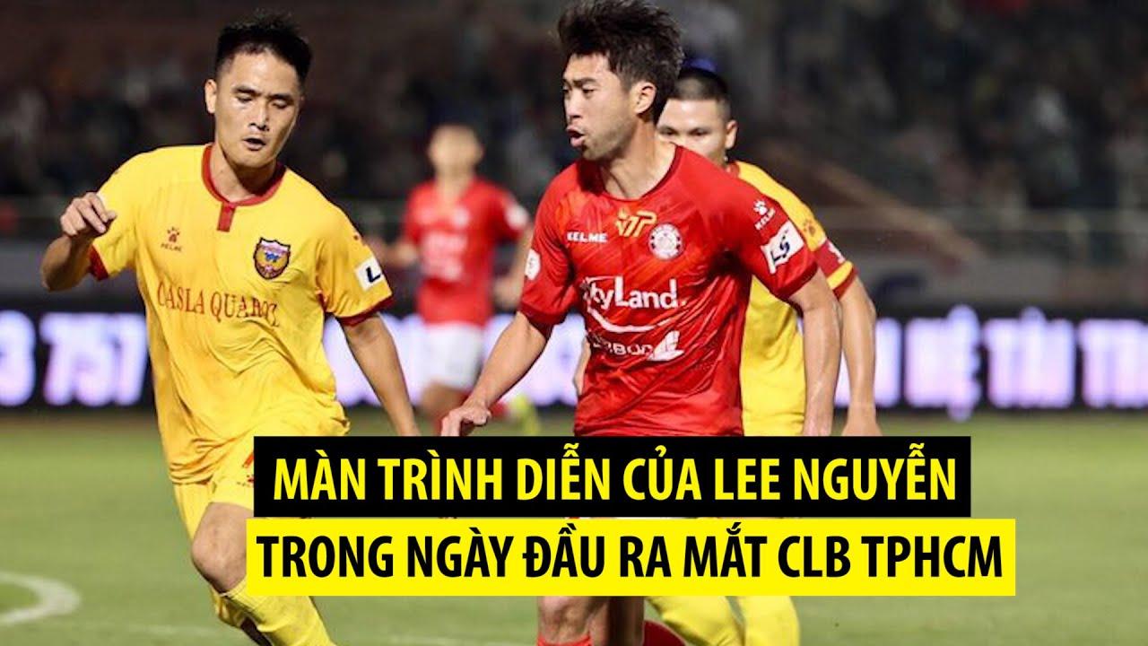 Những pha bóng tinh tế của Lee Nguyễn trong ngày trở lại VLeague sau 10 năm