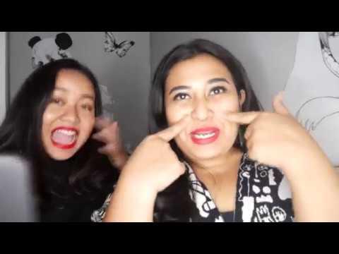 NYANYI DENGAN SATU HURUF VOKAL. The Raunchy Duo: Ucita & Sharra Vocalizing Challenge
