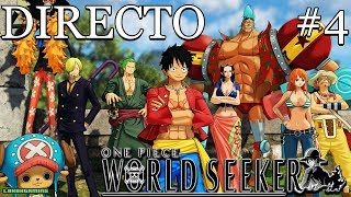 One Piece World Seeker - Directo #4 Español - Final del Juego - Mapas del Tesoro - Xbox One X