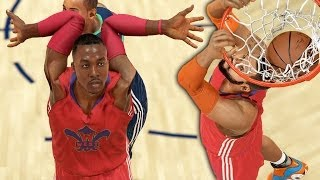 WTF DWIGHT HOWARDS ARMS BROKE! NBA 2K14 Next Gen MyCareer #95