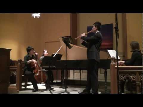Telemann: Trio Sonata in B flat Major, TWV 42:B4