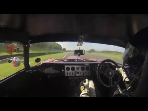 Onboard Ex Jackie Stewart E-type with Matt Nicoll-Jones, Goodwood Revival RAC TT.
