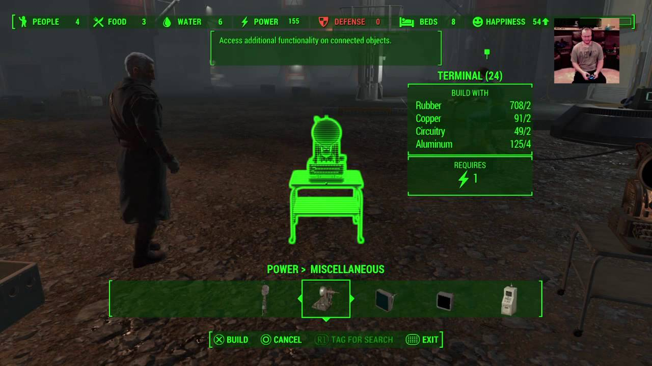 How do you hook up power in fallout 4