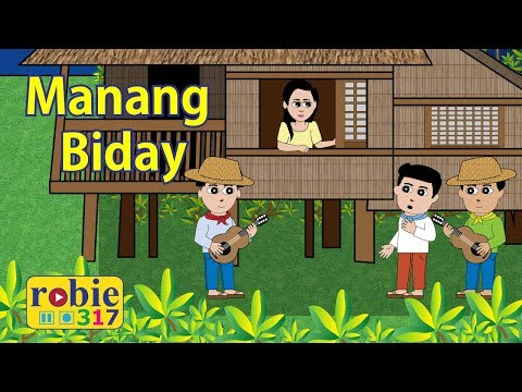 Manang Biday Animated | Ilocano Folk Song
