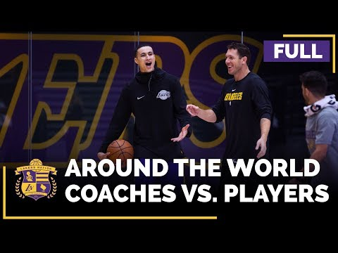 Lakers Players Vs. Coaches: Around The World (FULL VERSION), Feat. Lonzo Ball, Kyle Kuzma