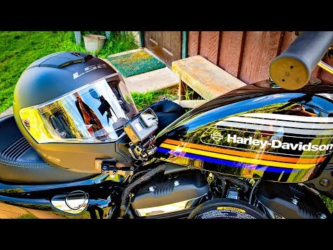 LS2 Helmet 1st Ride on 48!! • Does It Pass the Test? | TheSmoaks Vlog_1289